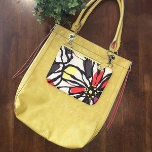 Relic Shoulder Bag w/ detachable Cosmetic Bag